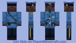 New Jersey State Trooper [ Winter Uniform ] Minecraft Skin