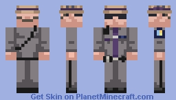 New York State Police Trooper Minecraft Skin
