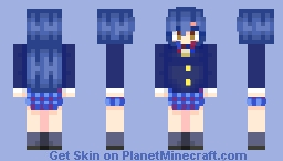 [Love Live! School Idol Project] Umi Sonoda Minecraft Skin