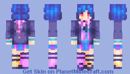Purblu Minecraft Skin