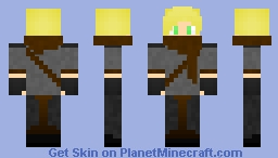 Scarfed Ninja Minecraft Skin