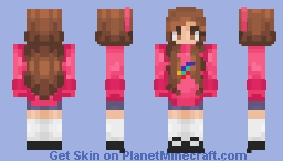 ☄️🌟 mabel pines from GRaViTY FALLS 🌟☄️ Minecraft Skin