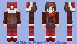 Christmas (Contest Entry) | 𝓜𝓾𝓾𝓼𝓱𝓻𝓸𝓸𝓶 Minecraft Skin