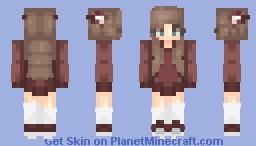 Maroon Beauty - Request for Eliynia Minecraft Skin