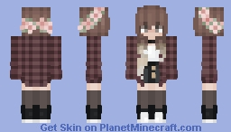 🌼 | flower crown Minecraft Skin