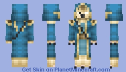 Alba, The Glyphmaster (better in 3D) Minecraft Skin