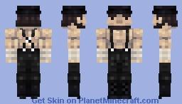 """Abe """"Beef Cake"""" Lincoln Minecraft Skin"""