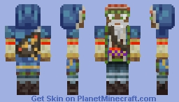 Forgotten Realms Wizard  [PMC Skin Contest Submission] Minecraft Skin