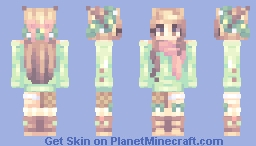 Wreath Deer - Happy Holidays kablamo Minecraft Skin