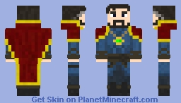 Doctor Strange ~{Magic Skin Contest}~ Minecraft Skin