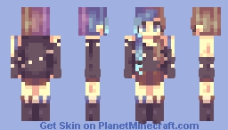 Round two - Ambience + Louier's contest. + P0PR33l  Minecraft Skin