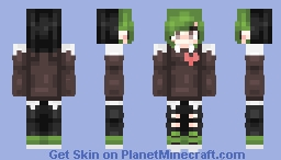 Re-make of one of the first skins I made Minecraft Skin