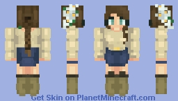 HA! What the heck is SNOW? Minecraft Skin