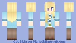 Mystic Messenger Yoosung girl. 😘 🍛 Minecraft Skin