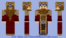 Dwarf king v.2 Minecraft Skin