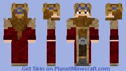 Dwarf king v.2 Minecraft Skin