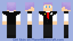 Dylan 1.7 version Minecraft Skin