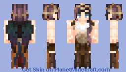 𝑬𝓶𝓶ọ𝓇𝒂𝒍  Harpy / Contest Entry (other version in desc.) Minecraft Skin