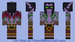 Illidan Stormrage (Legion Textures) - By Wolf40013 Minecraft Skin