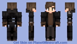 A Post Apocalyptic Guy Minecraft Skin