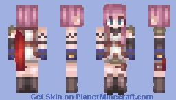 Final Fantasy - Lightning Farron Minecraft