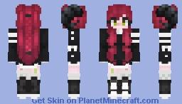 ᏰᏋᏝᏬ    𝓓𝒆𝓶𝓸𝓷 Minecraft Skin