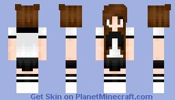 ♥Hide from the rain♥ Minecraft Skin