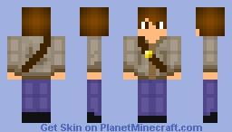 Explorer (Sketch-based skin) Minecraft Skin