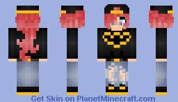 Batman fan girl - requested Minecraft Skin