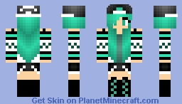 Green Tom... girl? Minecraft Skin