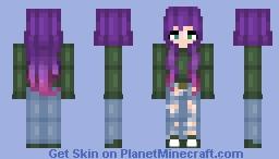 Pink-Purple Camoflage Minecraft Skin