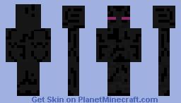 Minecraft Enderman Minecraft Skin