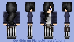 Amelia Salvain, The Magician~ (Magic Skin Contest) Minecraft Skin
