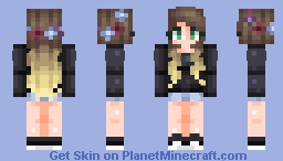 Request - HeyItzRosy | 𝓜𝓾𝓾𝓼𝓱𝓻𝓸𝓸𝓶 Minecraft Skin