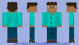 The Normal Person Of Earth Minecraft Skin