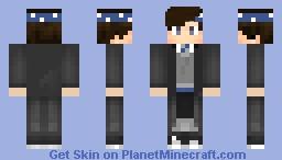 Ravenclaw Student Minecraft Skin