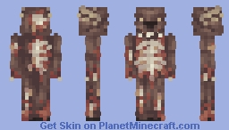 Wendigo [Magic Skin Contest] Minecraft Skin