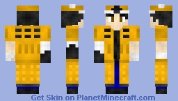 Dude w a Dalek on the back! [Request] Minecraft Skin