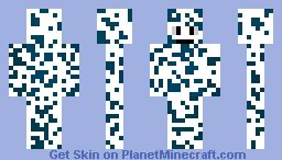 Blue cheese Minecraft Skin