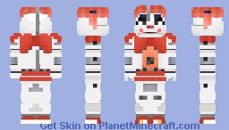 Circus Baby - Sister Location Minecraft Skin