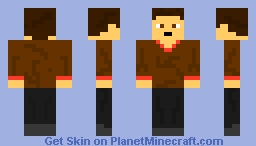 Moped Guy (Happy Wheels) Minecraft Skin