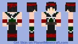 Goku Father Bardock ~ Anthonny Minecraft Skin