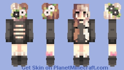 st with Trxsh  ⁄⁄  flower crown  ⁄⁄ Minecraft