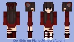 °✧  🎀  𝐼𝒹𝓀    🎀  ✧° ~ ๓เ๓гย Minecraft Skin