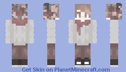 Scarf Boy Minecraft Skin