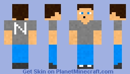 Noah (without jacket) {Scream Roleplay) Minecraft Skin