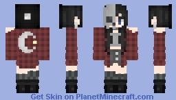 {*#*}Skull Mask Girl{*#*} Minecraft