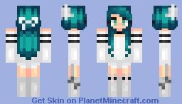 ~♦Kirα♦~ (Natural Haircolors In Desc) ✨ฬєᗩᖇᗴTᕼᗴᑎΔŘฬᗩŁŞ✨ Minecraft Skin