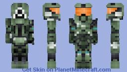 Master chief -Halo Minecraft