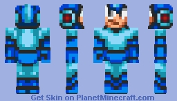 Megaman (Contest) (4th Place!) Minecraft Skin